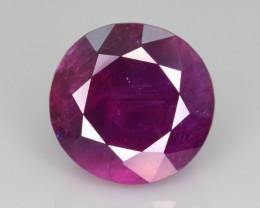 Certified Top Clarity & Color 6.29 ct Corundum Sapphire