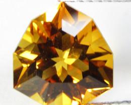 4.78Cts Genuine Natural Citrine Trillion Custom Cut Loose Gemstone