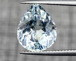 Natural Aquamarine 6.75 cts Sparkling Gemstone