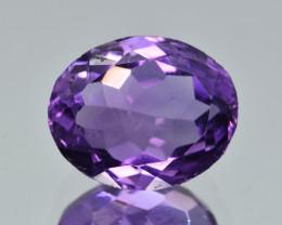 Natural Amethyst 4.83  Cts, Good Quality Gemstone