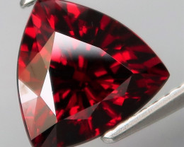 3.80 Ct.100% Natural Earth Mined Top Quality Red Rhodolite Garnet Africa