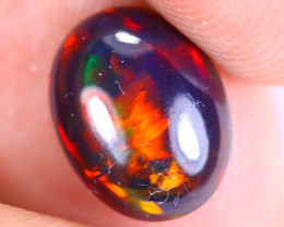 1.10cts Natural Ethiopian Welo Smoked Opal / MA2399