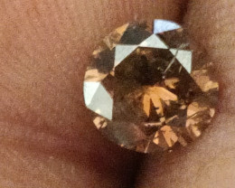 NATURAL-FANCY RED BROWNDIAMOND-SIZE 1.10 CTW ,1PCS,NR