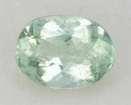 Tourmaline 0.78 Cts Unheated Green Color Paraiba Natural Gemstone