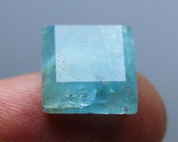 7.10 CTs Natural & Unheated~Blue Aquamarine  Cut Stone