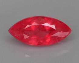 Rare Rhodonite 1.25 ct Great Rasberry Color Madagascar Mined SKU 7