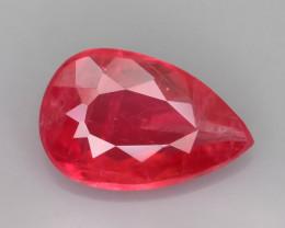 Rare Rhodonite 1.00 ct Great Rasberry Color Africa SKU 7