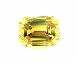 0.53 CT Diamond Gemstone Top yellow colour Top Luster