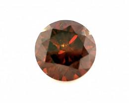 0.35 CT Diamond Gemstones Rop Red color top luster