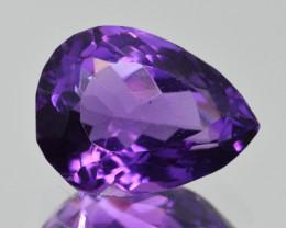 Natural Amethyst 6.30  Cts, Good Quality Gemstone