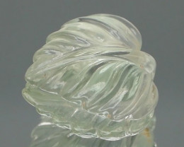 Fancy Green Prasiolite 12.72Ct Great for wire Wrap