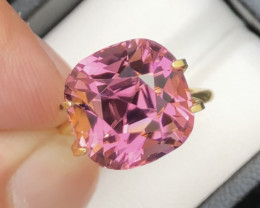Superb Quality Amazing Pink Color 10.75 Carats Tourmaline Piece From Afghan