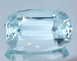 Flawless 210Ct Aquamarine Brilliant Cut Gemstone