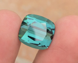 Top Blue Color 11.90 Carat Natural Tourmaline From Afghanistan