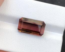 ~NR~8.40(ct)Deep Pink Color Nigerian Tourmaline Faceted Gem