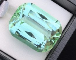 Outrageous Size 52.50 Ct Seafoam Color Tourmaline From Afghanistan