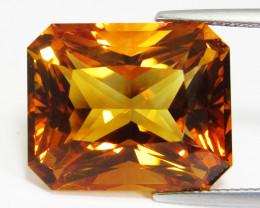 28.62Cts Genuine Natural Citrine Radiant Cut Loose Gemstone