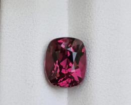 HGTL Certified 1.85 Carats Natural Rhodolite Garnet Nice Cut Gemstone