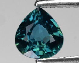 Burma Sapphire 0.76 Cts Natural Teal Color Gemstone