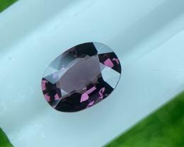 Spinel 1.21 Cts No Heat Pink Purple Step cut BGC2287 | From Tanzania