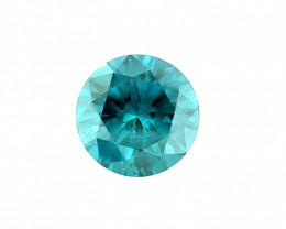 0.57 CT Diamond Gemstones Top blue colour top luster
