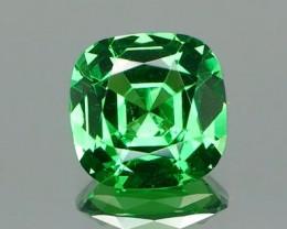 Top Mint Green Tsavorite Garnet 1.12Ct.
