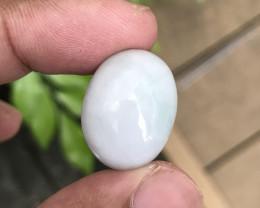 31.000Cts Jade 100% Natural Unheated Burmese Mine Oval Cabochon