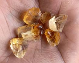 50 Cts Natural Citrine Rough Gemstone Wholesale Parcel VA1622
