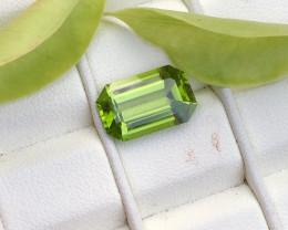 6.10 carats natural peridot gemstone