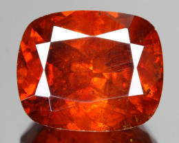 Sphalerite 8.20 Cts  AAA Orange Red Sphalerite Loose Gemstone