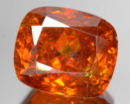 Sphalerite 8.00 Cts AAA Orange Red Sphalerite Loose Gemstone