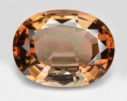 Tourmaline 3.79 Cts Unheated Bi-Color Natural Gemstone