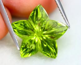 Peridot 7.43Ct VS Fancy Cut Natural Himalayan Green Peridot SE29