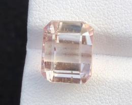 7.50 carats, Natural Yellowish Pink Kunzite.