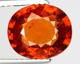 3.34 Cts AAA Spessartite Open Color and Untreated SG11