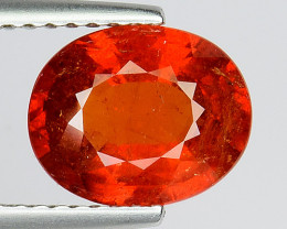 2.91 Cts AAA Spessartite Open Color and Untreated SG18