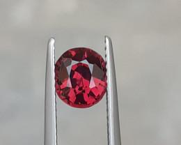 NR~HGTL Certified 1.62 Carats Natural Rhodolite Garnet Nice Cut Gemstone