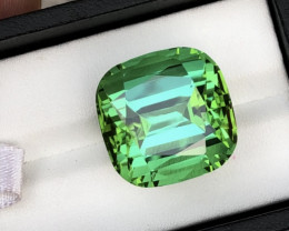 Rich Green Color 46.00 Carat Natural Tourmaline From Jaba Mine Afghanistan