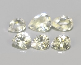 0.55 CTS~EXQUISITE NATURAL UNHEATED WHITE SAPPHIRE