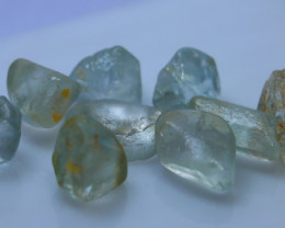 115.05 CTs Natural & Unheated~Blue Topaz Rough Lot