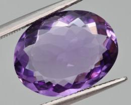 Natural Amethyst 6.56 Cts, Good Quality Gemstone