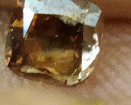 NATURAL-BROWN DIAMOND, 0.75CTWSIZE-1PCS