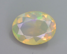 Rainbow Fire 1.40 ct Ethiopian Opal
