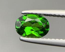 1 Ct Unheated Green Chrome Diopside Gemstone. Cd-6393