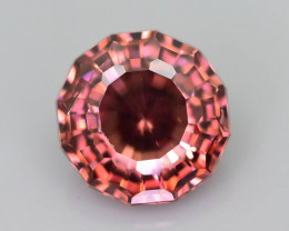 Rare Red Zircon 1.75 ct Imperial Specie Cambodian Mined SKU.20
