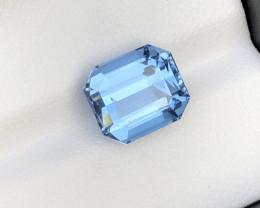 Perfect Blue Color 4.70 Carat Natural Aquamarine From Nigeria
