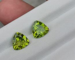 3.80 Carats Natural Peridot Nice Cut Gemstone