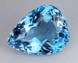 23.07 Cts Fancy Topaz Excellent Luster & Color Gemstone TP2