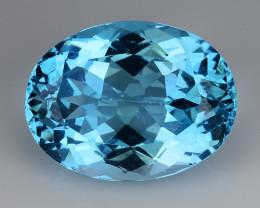 24.15 Cts Fancy Topaz Excellent Luster & Color Gemstone TP10