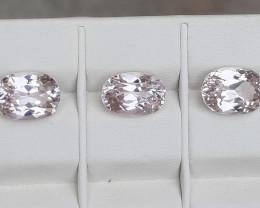 14.20 Carats Natural Kunzite Nice Cut Gemstone